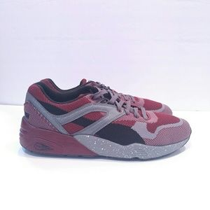 official photos 9f082 414a9 Puma Shoes - Puma Trinomic Flyknit Black red grey size 10.5